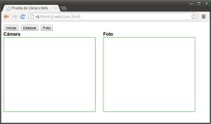 Layout de la página de prueba de video HTML5