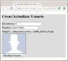 Guardar usuario con imagen - Layout